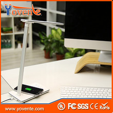 Yovente NEW 2016 Super Design Rechargeable Qi Wireless Charger Led Desk Lamp for Samsung