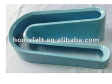 High quality hot selling 100% Melamine U shape egg plate