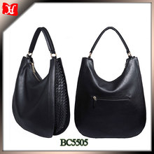 New design women leather systyle handbags china wholesale