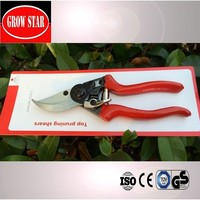 High quality garden tool pruning shears - titanium bypass hand