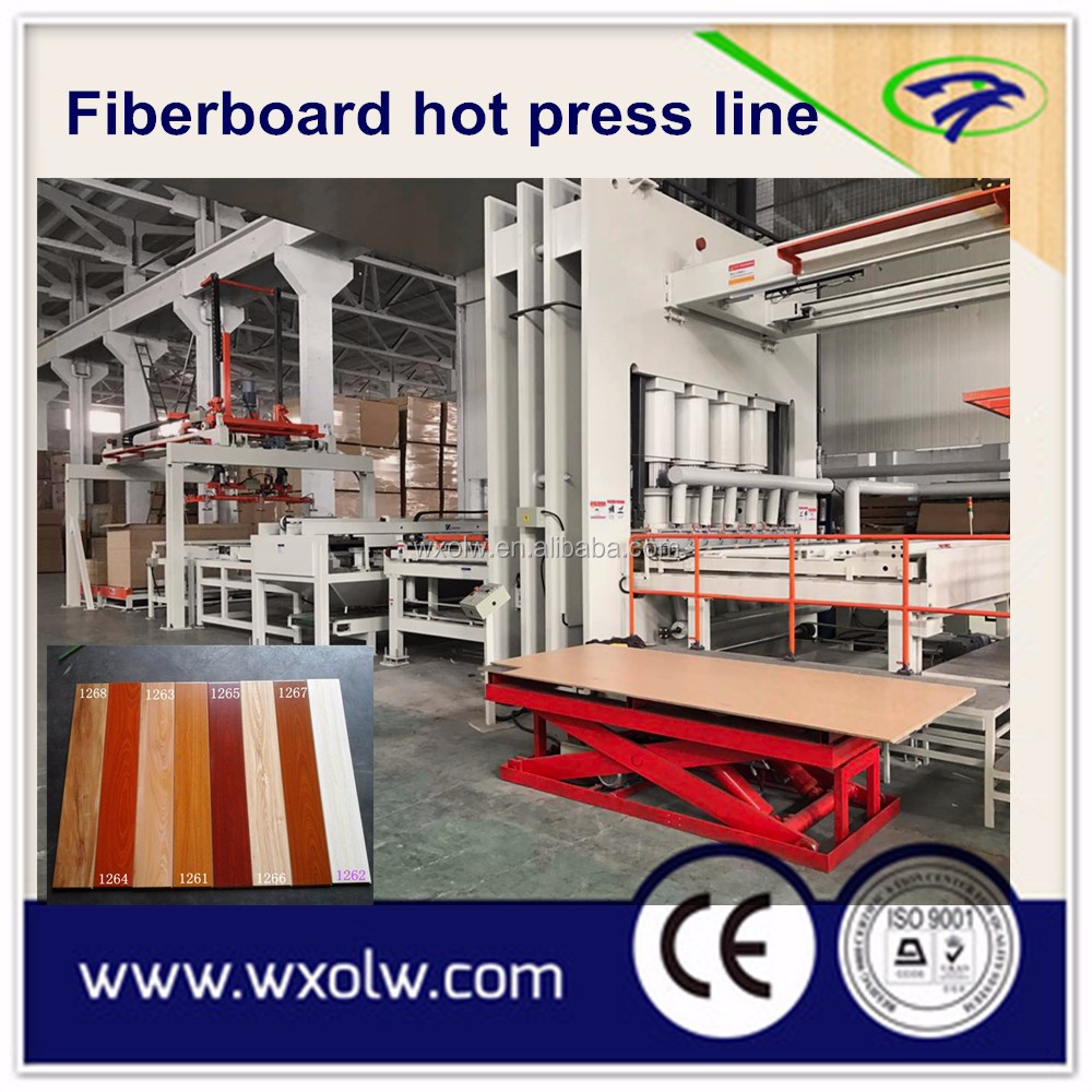 2000T~3200T MDF/HDF Hot Press Machine for Laminate Flooring Production /HDF laminate flooring hot press machine