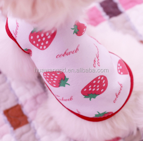 Bulk Wholesale PET plush toy clothing