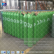 Shandong Qingdao Supply Pure O2 Gas Refillable Empty Oxygen Bottle