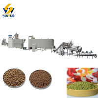 New Technology Floating Fish Feed Extruding Machine