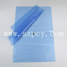 China suppliers 2017 yiwu cheap opp cpp pe clear transparent packing bag falt plain bag