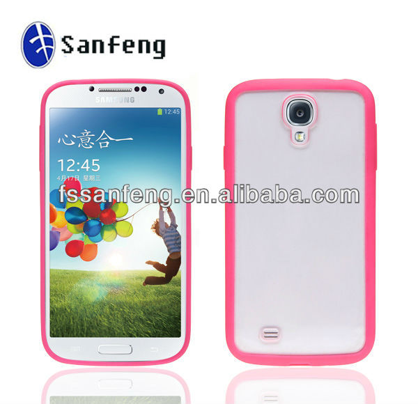Soft Tpu Gel Skin Cover Case For Samsung S4/New Cover Accessories For Samsung S4/Tpu Bumper Frame Cover Case For Samsung S4