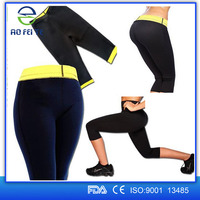 New Products 2015 Aofeite Slimming Yoga Sport Neoprene Women Body Slimming Pants, Super Stretch Slimming Pants Body Shapers