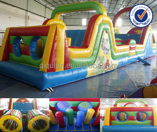 40ft Giant Inflatable Floating Water Park/ Inflatable Water Obstacle course/ Inflatable water game