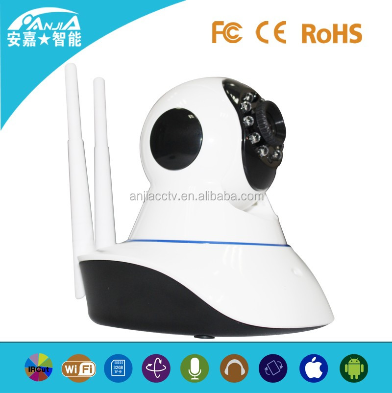 1280*720p Hd 1.0mp Wireless Wifi Ir Network Ip Camera Cctv Camera Security Camera p2p Onvif Outdoor With Micro Sd Card Slot