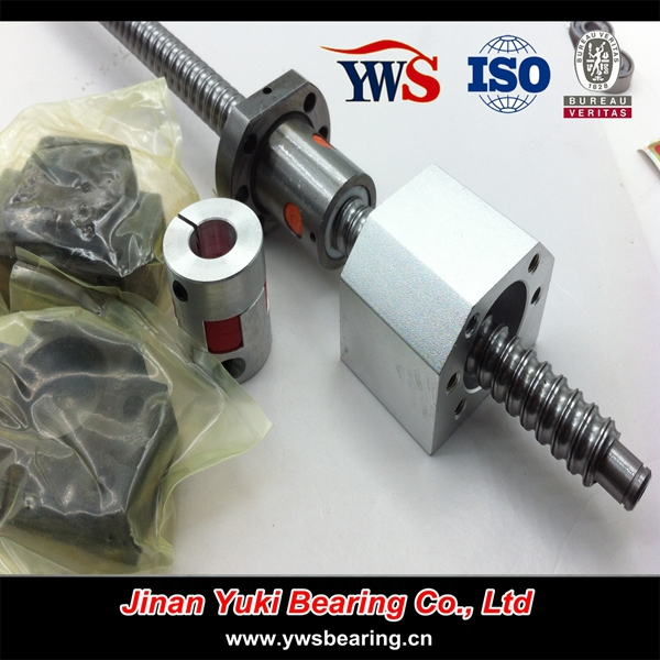 sfu1204 1605 ball bearing set screw ball screw for cnc machine