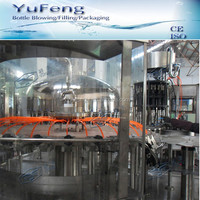 King quality glass oil washing / filling / capping equipment