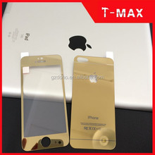 Premium color tempered glass screen protector for iphone 5 with factory price