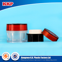 Plastic jar cosmetic packaging 15ml/40ml empty jars and bottles for cosmetics