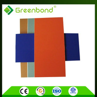Greenbond panel del espesor de 20mm/material de construccion Panel acm