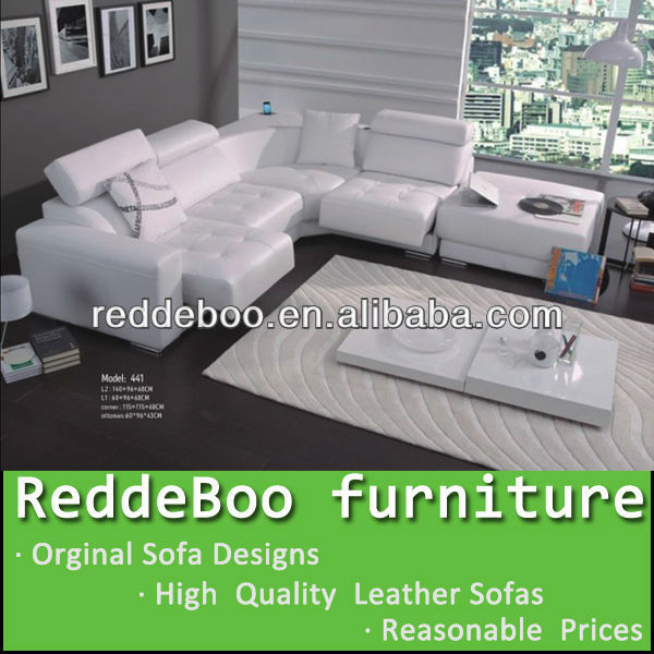 The image of sofa set leather sofa set 441
