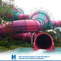 Hot sell New design play land aqua slides for sale
