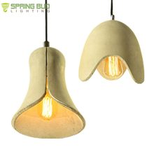 CE Rohs approved China Supplier Concrete Hanging Lamp industrial Cement Pendant Light