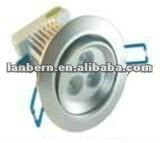 High power Cree LED Downlight 3x3w Dimmable/Adjustable