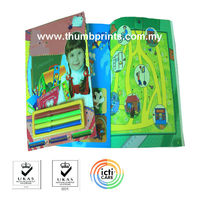Children activity books with stationery
