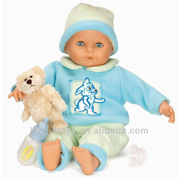 50CM sounding doll with cotton body