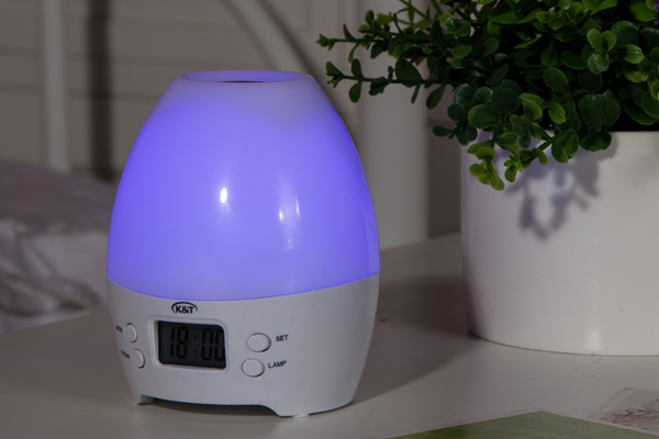 Color Changing Lamp Time Display Electric Aroma Diffuser