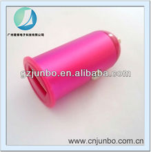 Hot Pink USB Car Plug Charger Output 1A