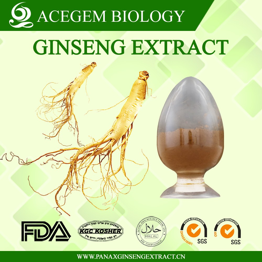 Natural Herb panax ginseng root extract HPLC30%