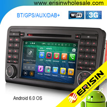 "Erisin ES5083L 7"" Android 6.0 Marshmallow OS 8- Core Car Multi-media Stereo DVD Player GPS DAB+ for ML-Class W164"