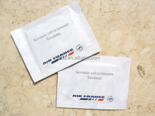 Single Airline cleaning wet wipes/factory/oem