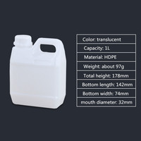 1L to 10L 5 liter plastic jerry can for chemical