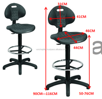 lab chair , laboratory chair , adjustable lab chair
