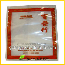 Transparent 600d polyester cooler food bag