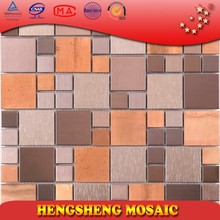 SA40 sunset glow style stainless steel mosaic tile