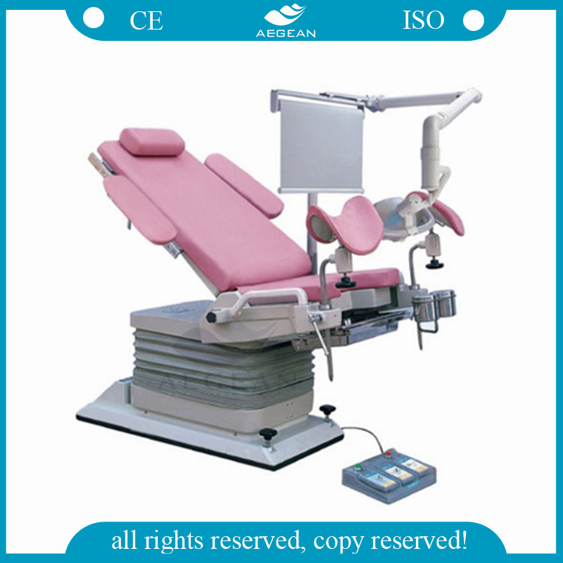 AG-S104A Imported hydraulic electric Gynae chair