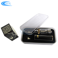 1100mah 2200mah Vaporizer Pen Black color E Cigarette Vape Pen Starter Kit