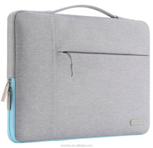 Wholesale perfect shock protection multifuctional canvas laptop bag briefcase 13 inch