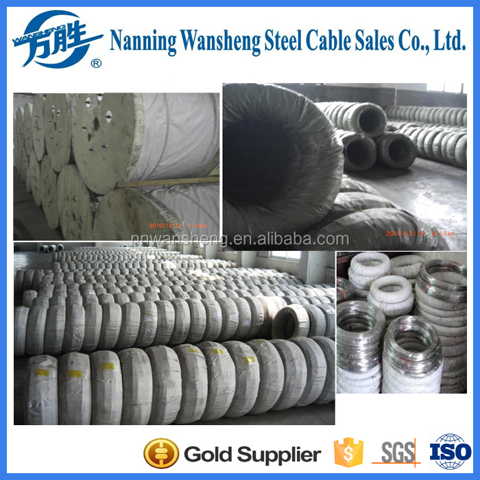 5% aluminium 95% zinc coating steel wire for vineyard