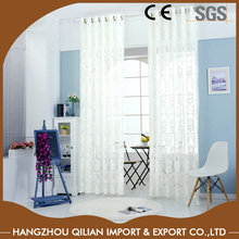 Hot window covering white sheer curtains 120 inche long for living room