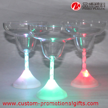 Clear Glowing Ice Cup,Plastic Colorful Flashing LED Cups for Bar Party