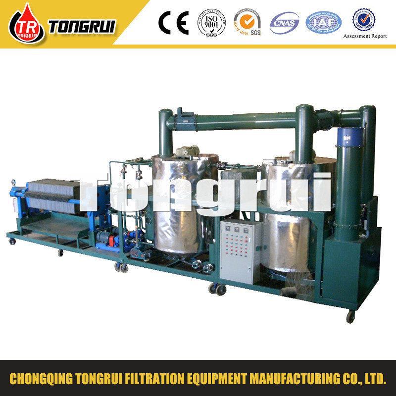 used car engine oil recycling machine