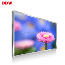 wall mounted lcd design video retail store pop display with usb vga input player