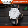 China Wholesale High Quality Cheap Custom Made Genuine Leather Mens Watches