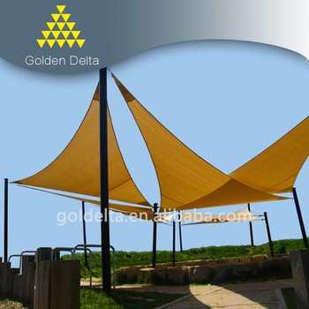 HDPE sun shade sail/outdoor garden sun shade net
