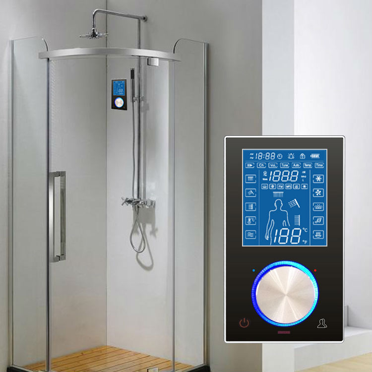 Thermostatic Bathroom Steam Shower Room Control Panel