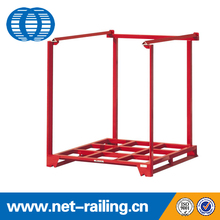 Warehouse foldable metal storage stack <strong>rack</strong>