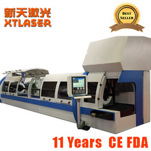 kitchen stainless fabrication cutting machine/Fiber laser cutter for square tube,round tube