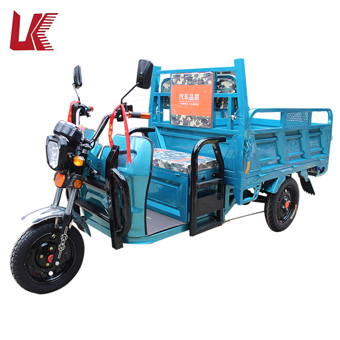 High speed battery powered electric car/green power tandem tricycle for adults/ 3 wheel motorcycles used for sale
