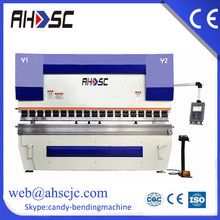 100TX3200 DA52 controller back gauge sheet folding machine, CNC folding machine