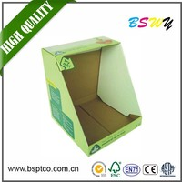 Good price stylish make up display stand display packaging box for watches paper perfume display