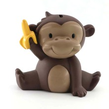 Animal Shape Plastic Cute Monkey money box for adult toys
